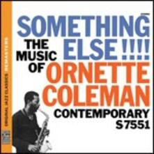 Something Else!!! The Music of Ornette Coleman - CD Audio di Ornette Coleman