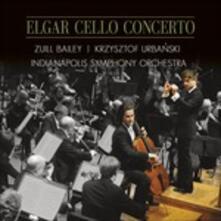 Concerto per violoncello - CD Audio di Edward Elgar,Zuill Bailey
