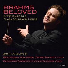 Brahms Beloved - CD Audio di Johannes Brahms,Orchestra Sinfonica di Milano,John Axelrod