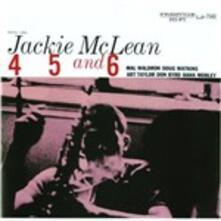 4, 5, and 6 - Vinile LP di Jackie McLean