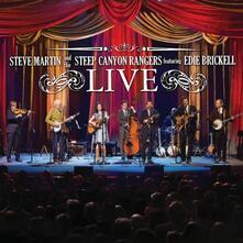 Live (feat. Edie Brickell) - CD Audio + DVD di Steve Martin,Steep Canyon Rangers
