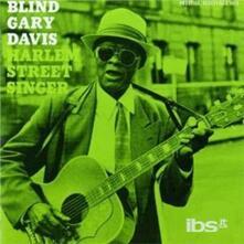 Harlem Street Singer - Vinile LP di Gary Davis