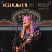 Back to Macon, GA (180 gr.) - Vinile LP di Gregg Allman