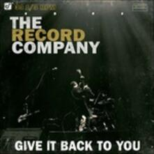Give it Back to You - Vinile LP di Record Company