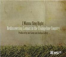 I Wanna Sing Right - CD Audio