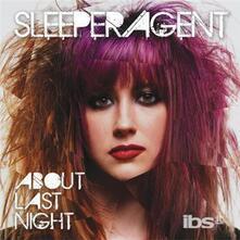 About Last Night - Vinile LP di Sleeper Agent