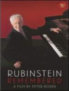 Rubinstein Remembered di Peter Rosen - DVD