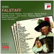Falstaff - CD Audio di Leonard Bernstein,Giuseppe Verdi,Dietrich Fischer-Dieskau,Wiener Philharmoniker