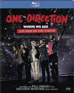 One Direction. Where We Are. Live From San Siro Stadium - Blu-ray