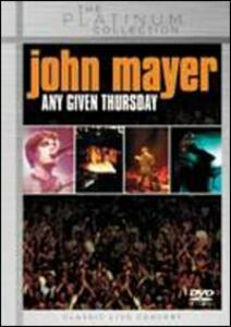 John Mayer. Any Given Thursday - DVD