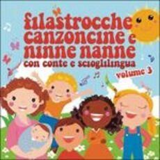 CD Filastrocche, canzoncine e ninne nanne vol.3