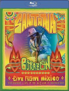 Santana. Corazon. Live from Mexico: Live It to Believe It - Blu-ray
