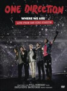 One Direction. Where We Are. Live From San Siro Stadium - DVD
