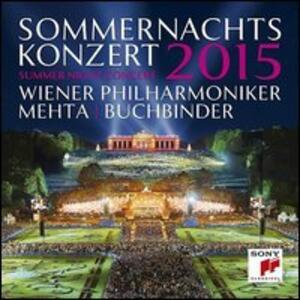Sommernachtskonzert 2015. Concerto di una notte di mezza estate - Blu-ray
