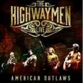 CD American Outlaws Live Highwaymen