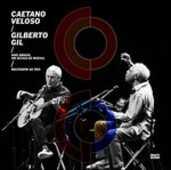 CD Dois amigos, um seculo de musica. Ao vivo Caetano Veloso Gilberto Gil