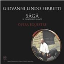 Saga. Il Canto dei Canti - CD Audio di Giovanni Lindo Ferretti