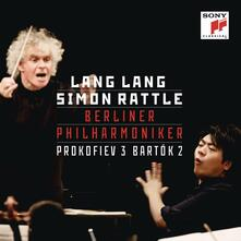 Concerto per pianoforte n.3 / Concerto per pianoforte n.2 - CD Audio di Sergej Sergeevic Prokofiev,Bela Bartok,Lang Lang,Berliner Philharmoniker,Simon Rattle