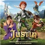 Cover CD Colonna sonora Justin e i Cavalieri valorosi