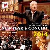 CD Concerto di Capodanno 2014 Daniel Barenboim Wiener Philharmoniker