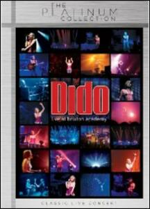 Dido. Live at Brixton Academy - DVD
