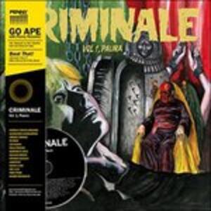 Criminale vol.1. Paura (Colonna Sonora) - Vinile LP + CD Audio