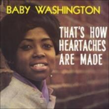 That's How Heartaches - Vinile LP di Baby Washington