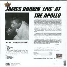 Live at the Apollo - Vinile LP di James Brown