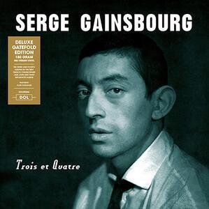 Trois et quatre - Vinile LP di Serge Gainsbourg
