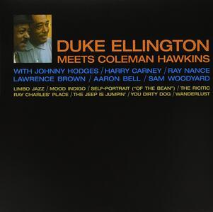 Duke Ellington Meets Coleman Hawkins - Vinile LP di Duke Ellington,Coleman Hawkins