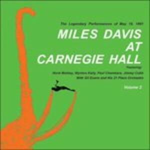 At the Carnegie Hall part Two - Vinile LP di Miles Davis