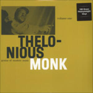 Genius of Modern Music vol.1 - Vinile LP di Thelonious Monk