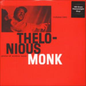 Genius of Modern Music vol.2 - Vinile LP di Thelonious Monk