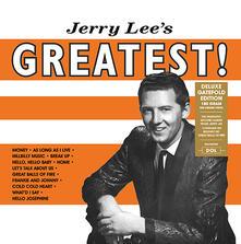 Jerry Lee's Greatest (180 gr. Gatefold Sleeve) - Vinile LP di Jerry Lee Lewis