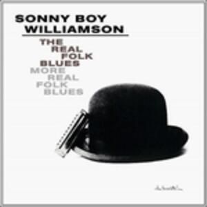 Real Folk Blues - Vinile LP di Sonny Boy Williamson