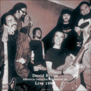 Live at Keswick Theatre 1984 - Vinile LP di David Byrne