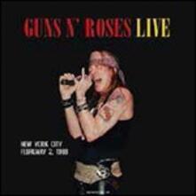 Live in New York City, February 2 1988 - Vinile LP di Guns N' Roses