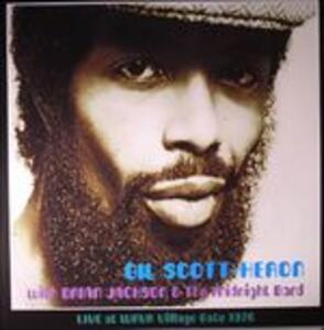 Live at Wrvr Village Gate Nyc 1976 - Vinile LP di Gil Scott-Heron