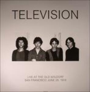 Live at the Old Waldorf, San Francisco 1978 - Vinile LP di Television