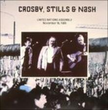 United Nations Assembly 18-11-1989 - Vinile LP di Stephen Stills,David Crosby,Graham Nash