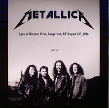 Live at Winston Farm Saugerties ny - Vinile LP di Metallica