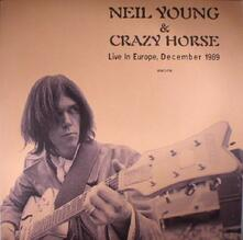 Live in Europe December 1989 - Vinile LP di Neil Young