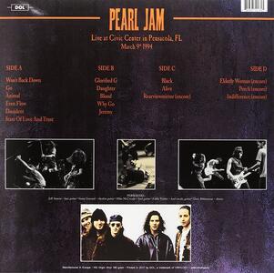 Live at Civic Center Inpensacola - Vinile LP di Pearl Jam - 2