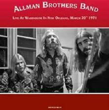 Warehouse in New Orleans, March 20th 1971 - Vinile LP di Allman Brothers Band