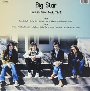 Live in New York Wlir Fm 1974 - Vinile LP di Big Star - 2