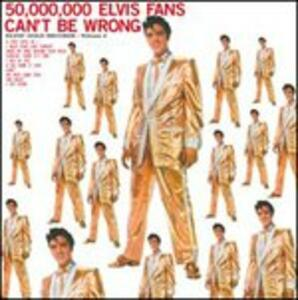 50.000.000 Elvis Fans Can't Be Wrong - Vinile LP di Elvis Presley