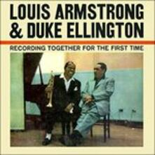 Recording Together for the First Time - Vinile LP di Louis Armstrong,Duke Ellington