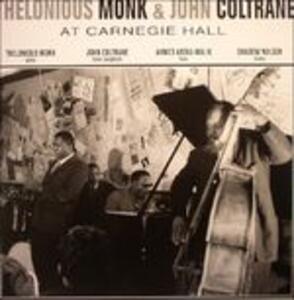 At Carnegie Hall November 1957 - Vinile LP di John Coltrane,Thelonious Monk