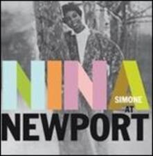 Nina at Newport - Vinile LP di Nina Simone