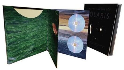 Solaris. Sound and Vision (Colonna Sonora) - Vinile LP + CD Audio + Blu-ray di Edward Artemiev - 2